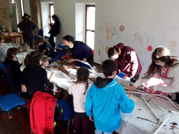 """Escola Ambiental Amabul veñen de participar no proxecto """"Transmutar Camiños"""""""